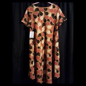 XL(fits 2x/3x) Lularoe Swing Dress